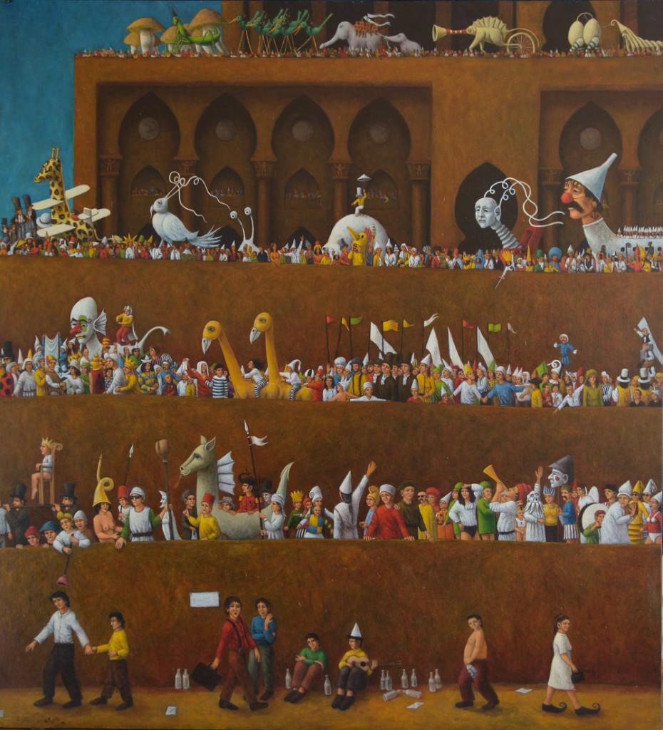 N°1 : Bas de la Tour de Babel