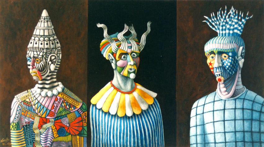 Les trois clowns